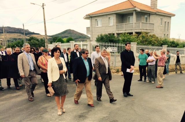 Cerveira e Tomiño investidos Juizes Honorários 2015 do Couto Mixto