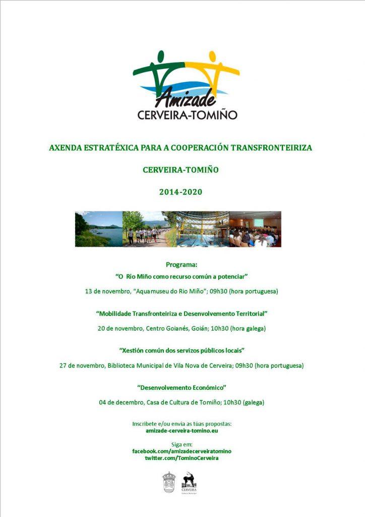 Presentada a Axenda Estratéxica para a cooperación transfronteiriza Cerveira-Tomiño