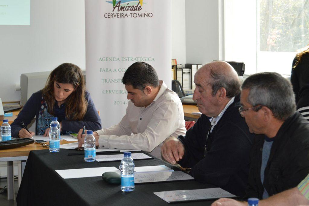 Primeiro Focus Group Tomiño Cerveira
