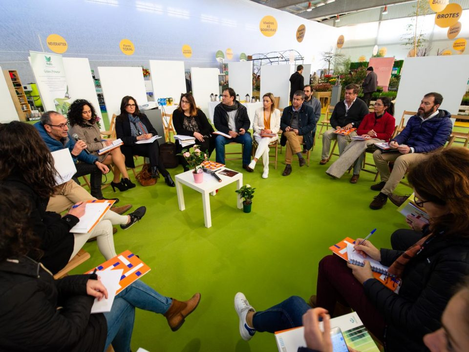 Workshop sobre oportunidades de formación e emprego na Eurocidade Cerveira-Tomiño, durante a Mostra de Cultivos do Baixo Miño