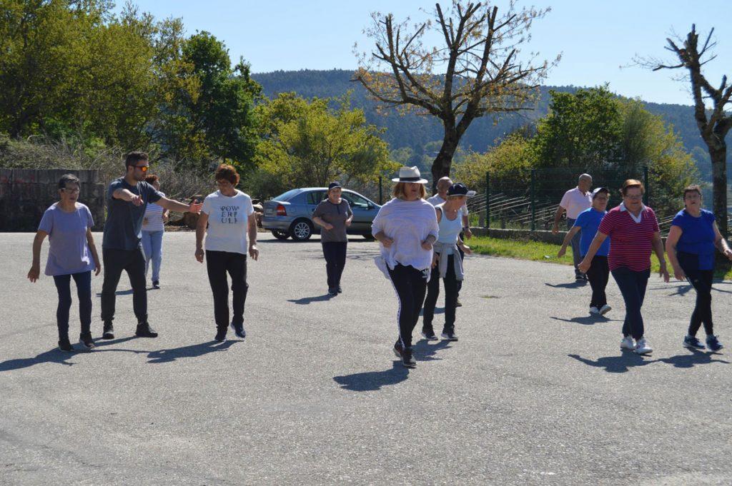 Actividades nas parroquias tomiñesas do programa Deporte para todas as persoas, da Eurocidade Cerveira-Tomiño