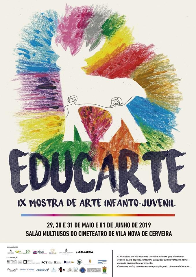 X Mostra de Arte Infanto-Xuvenil Educarte