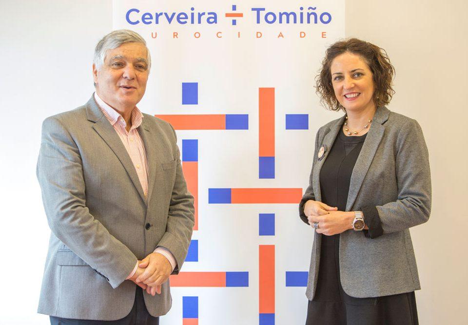 Tomiño e Cerveira, orgullosos do recoñecemento internacional do seu traballo a prol da participación cidadá