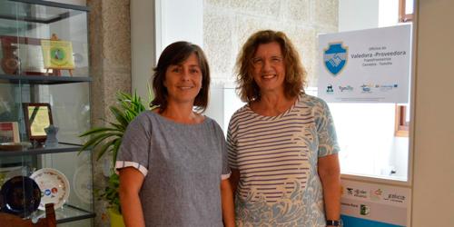Zara Pousa, por parte de Tomiño, e Mª Lurdes Cunha, por parte de Vila Nova de Cerveira, son as Valedoras da cidadanía transfronteiriza