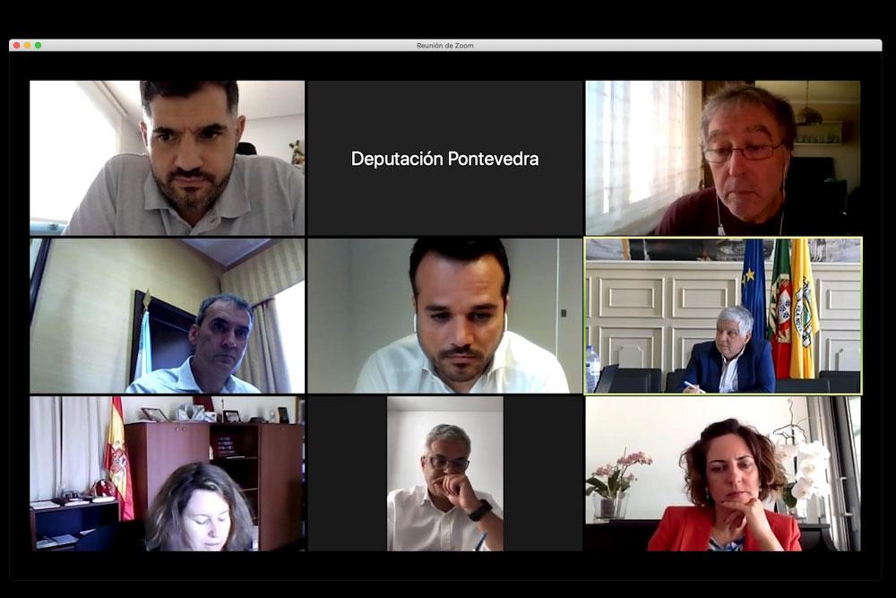 O AECT e as Eurocidades do Miño estudan medidas de protesta para reclamar a apertura urxente de pasos na fronteira con Portugal