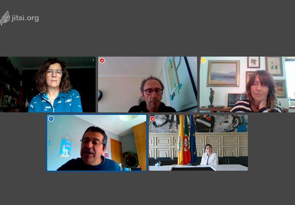 Reunión virtual das valedoras transfronteirizas para analizar o impacto social do peche de fronteiras