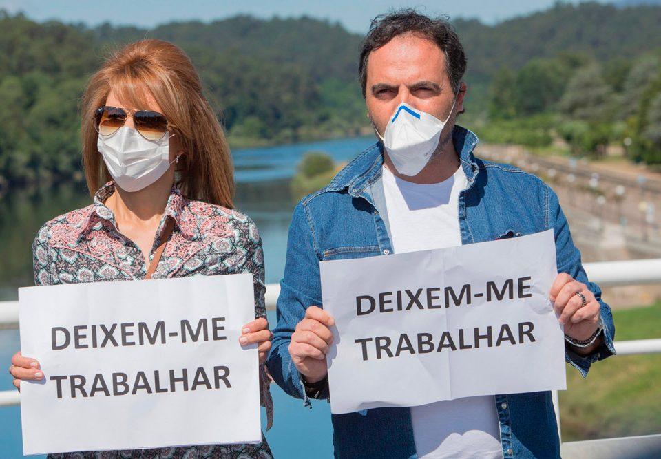 Alcaldes e alcaldesas da fronteira continúan coa súa loita para a apertura das pontes de Salvaterra, Goián e Tui para traballadores transfronteirizos