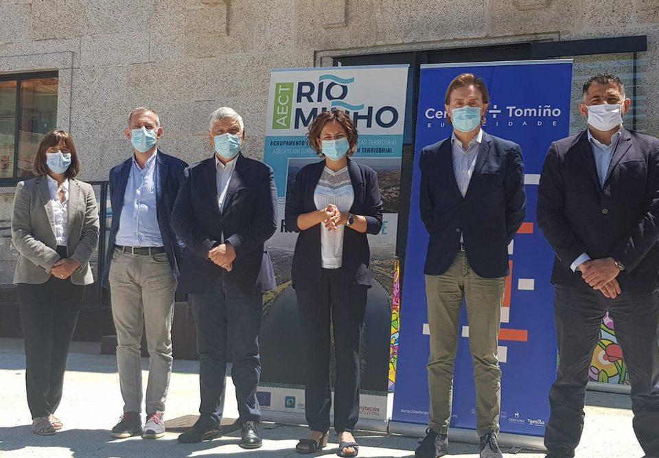 A Eurocidade Cerveira-Tomiño e a AECT Rio Minho reclaman un plan de recuperación específico para o territorio transfronteirizo