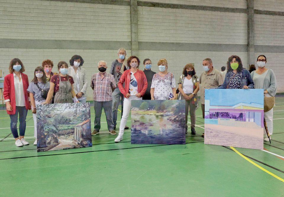 Cinco mulleres acaparan os premios do 8º Certame de pintura ao aire libre Antonio Fernández