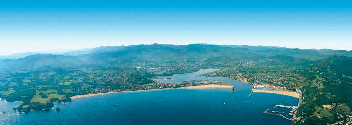 A bahía de Txingudi