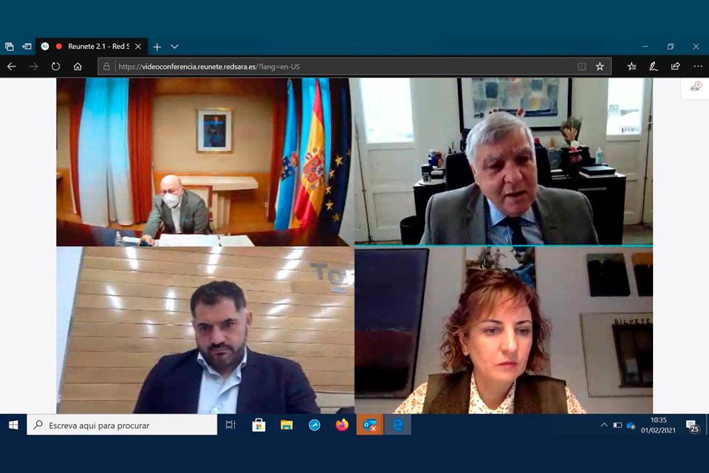 Parque da Amizade apresentado ao delegado do Governo espanhol