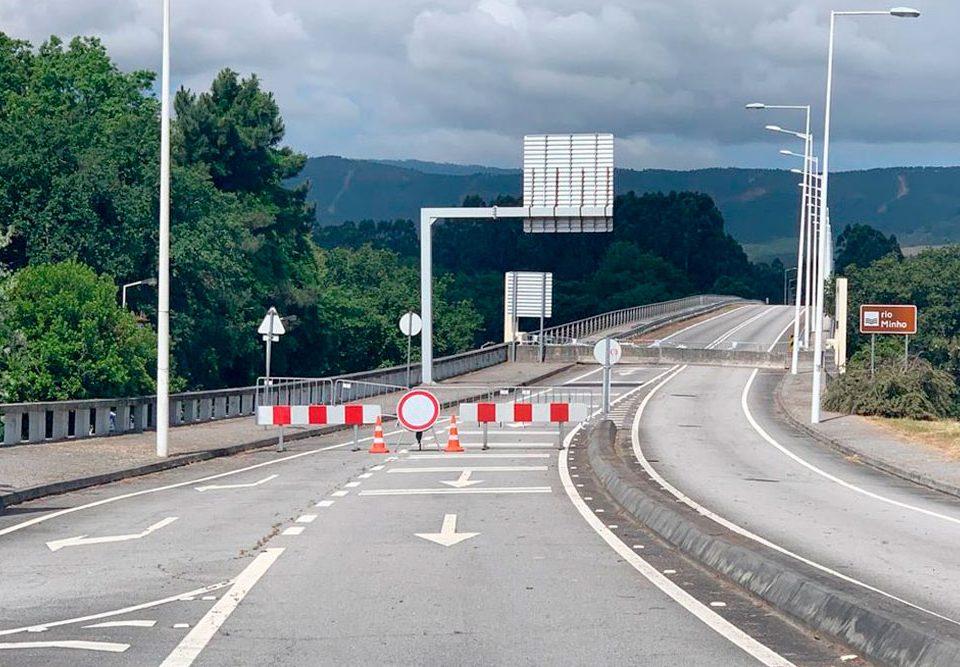 Desacordo com a medida governamental de encerramento de três pontes sobre o rio Minho