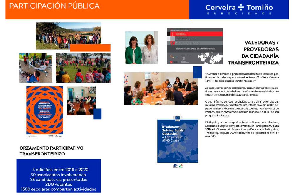 """Tomiño participa compartindo a súa experiencia transnacional con Cerveira, nas xornadas """"TecEuropa Local"""" da Fundación Galicia Europa"""
