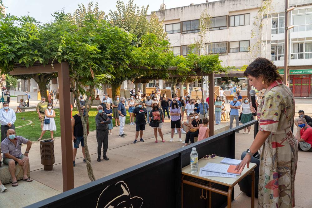 Preto de medio centenar de artistas medíronse no 9º Certame de pintura ao aire libre Antonio Fernández